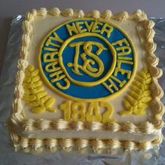 LDS Relief Society Cake