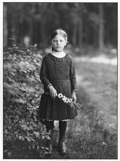 August Sander • Farm Girl Ca 1910
