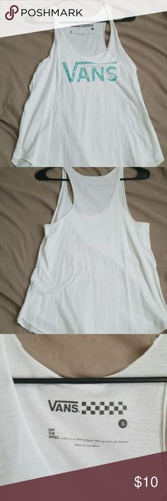 Vans tank Worn once and in perfect condition Vans Tops Tank Tops