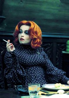 Helena Bonham Carter in Tim Burton's 'Dark Shadows' (2012). Costume Designer: Colleen Atwood