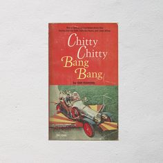 Chitty Chitty Bang Bang  Ian Flemming Book  Magical Fiction Book  70s Work of Fiction  Scholastic Kids Book  Classic Children's Story #vintage #books #reading