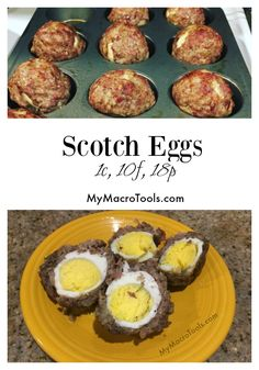 MacroEd Scotch Eggs; clean, easy, macro-friendly, high protein