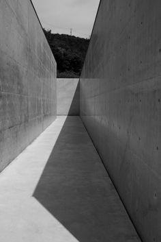 Lee Ufan Museum, Naoshima, Japan by Tadao Ando