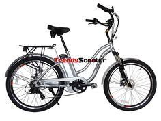 Hanalei Volt Step-Through Beach Cruiser Electric Bicycle