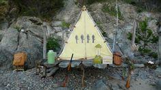 Moonrise Kingdom beach campsite