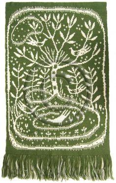 täkänä, Suomi | Finland Loom Weaving, Rug Hooking, Applique Designs, Scandinavian Design, Handicraft, Wall Tapestry, Folk Art, Tatting, Pattern Design