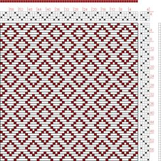 Hand Weaving Draft: Page 121, Figure 7, Donat, Franz Large Book of Textile Patterns, 4S, 4T - Handweaving.net Hand Weaving and Draft Archive