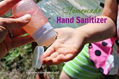 #Homemade Hand Sanitizer