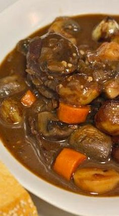 Venison Bourguignon - now that you have all this free time after the hunting season, why not try out a new recipe? OR plan for your next hunting trip to The Wilderness Reserve? www.TheWildernessReserve.com