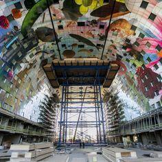 Under construction - Markthal Rotterdam