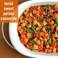 Lentil Sweet Potato Casserole | Real Food Real Deals