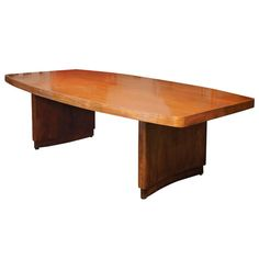 Stow Davis Moderne Conference Table, 1940s   From a unique collection of antique and modern conference tables at http://www.1stdibs.com/furniture/tables/conference-tables/
