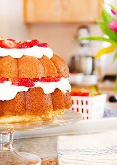 Strawberry Pound Shortcake