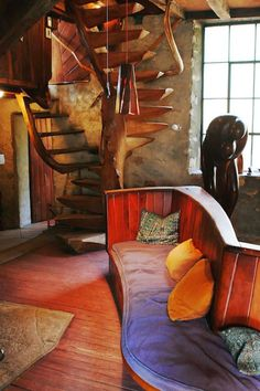 Introducing New Worlds With A Shrug: Insides: Wharton Esherick