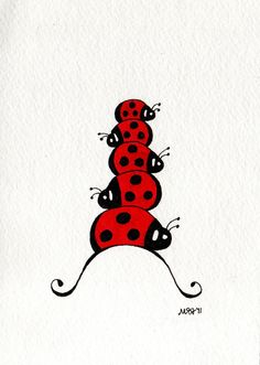 Stockpile of lady bugs