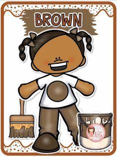 Color Worksheets For Preschool, Preschool Coloring Pages, Preschool Colors, Teaching Colors, Preschool Learning Activities, English Activities, Color Activities, Teaching Kids, Color Flashcards