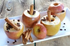 Simple Baked Apples recipe with 5 ingredients --apples, lemon, cinnamon, vanilla, and currants. Easy to make, yet a decadent gluten-free, paleo dessert!