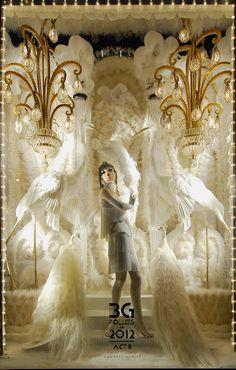 Bergdorf Goodman Holiday Windows inspire... via VandM.com