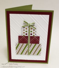Christmas card Confessions of a Stamping Addict