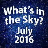 Summer stargazing fun continues in July! Warm July nights are ideal opportunities to spend time outside exploring the heavens with family and friends.