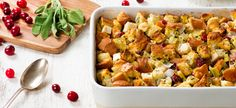 Try this recipe for Classic Holiday Stuffing from Campbell's & Pepperidge Farms Holiday Secrets Exposed.