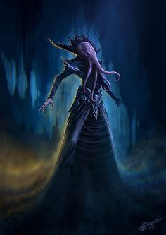 The Illithids (aka Mind Flayers), one of the most iconic and most feared monsters in Dungeons and Dragons.