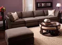 Microfiber Modular | Sectional Sofas | Raymour And Flanigan Furniture U0026
