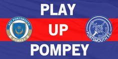 Portsmouth FC flag