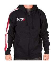 The BioWare Store - N7 Armour Stripe Hoody Mk-II - Mass Effect - Brands