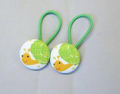 1 1/8 Size 45 Green/Yellow/Orange Snail Fabric by RatDogInk, $6.00