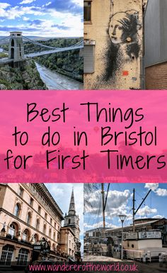 This list of 75 things to do in Bristol showcases the best of what the city has to offer first time visitors. Places Around The World, Around The Worlds, Clifton Village, Visit Bristol, Stuff To Do, Things To Do, Bristol England, City Farm, Great Buildings And Structures