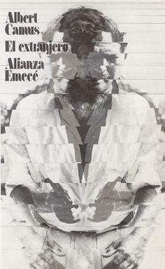 "Cover design: Daniel Gil. Spanish edition of ""The Stranger"" (""L'Étranger""), by Albert Camus. (Alianza / Emecé.)"