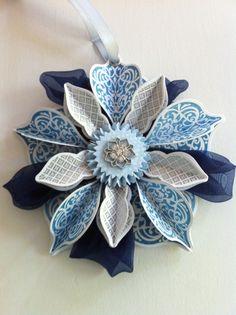 Ornament keepsakes Stampin' Up!