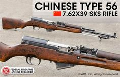 Chinese SKS Surplus 7.62x39 Rifle