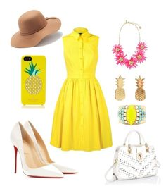 A fashion look from July 2015 featuring collared dresses, christian louboutin shoes and tote handbags. Browse and shop related looks. Spring Fever, Collar Dress, Christian Louboutin Shoes, Tote Handbags, Collars, Victoria, Fashion Looks, Summer Dresses, Polyvore