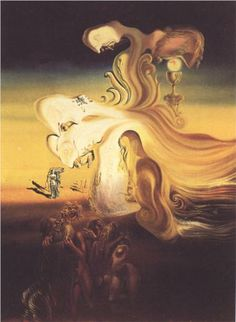 """Profanación de la hostia"" (~ Profanation of the Host;  1929), by Salvador Dalí. Oil on canvas; Fundació Gala-Salvador Dalí, Figueres, Spain."