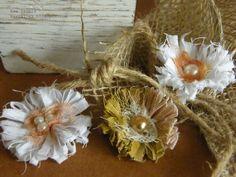 Handmade flowers - Tutorial from Ewa Szubra