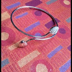 Host Pickalloy Double Heart Bangle Bracelet