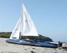 Klepper sailing Kayak