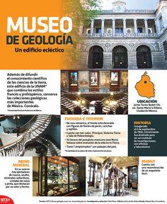 el Museo de Geología de la UNAM conserva las colecciones geológicas más importantes de México. #InfografíaNTX
