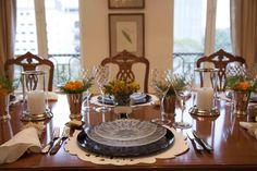 mesa contemporânea, mesa posta, como colocar a mesa, tablescape decor, table setting