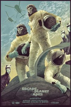 Escape from the Planet of the Apes.