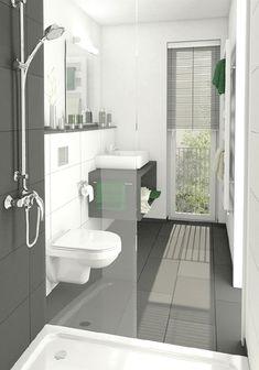 Moderne Badezimmer Klein
