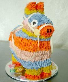 Another adorable piñata cake!
