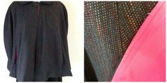 Wool blend outer and polyester lining  Size L