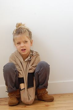 this will be my child one day. because, I wear this same outfit.