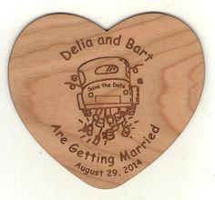 #woodsavethedate #weddinginvitations #woodinvitations #custom #engraved #savethedate Fort Collins, Save The Date Cards, Getting Married, Dates, Invitations, Wood, Wedding, Valentines Day Weddings, Woodwind Instrument