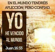 1 Juan 4:4 Hijitos, vosotros sois de Dios, y los habéis vencido; porque mayor es el que está en vosotros, que el que está en el mundo.♔