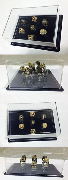 Other Fan Apparel and Souvenirs 465: 7 Ring Championship Ring Display Case - 7 Ring Display Case Championship Rings -> BUY IT NOW ONLY: $85 on eBay!