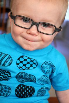 Cute, cute, cute!! | Eye Power Kids Wear features cool, hip shirts that make wearing glasses and patches fun for kids.